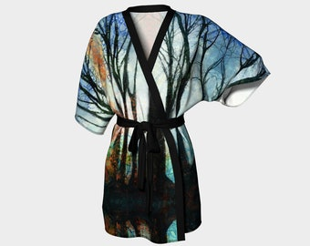 The Light in the Forest Kimono Robe