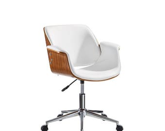 white wooden office chair. Office Chair, Modern Wood Chair White Wooden L
