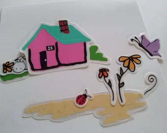 Washer Decal - Homestead Decal Set