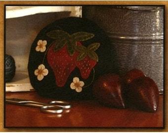 Pattern: Strawberry Pincushion by Primitive Gatherings