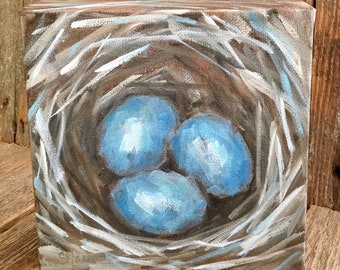 Egg Series - Cerulean Blue