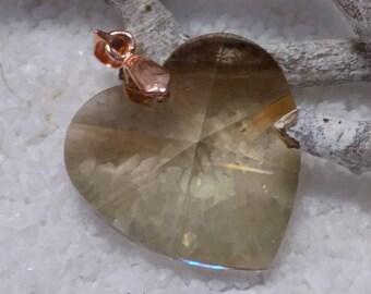 "Swarovski crystal pendant ""Heart"""