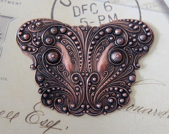 NEW Large Ornate Copper Finding 2301C
