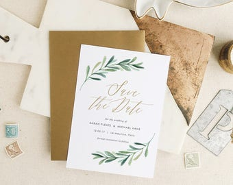 Wedding Save The Dates Etsy - Wedding invitation templates: vietnamese wedding invitation template