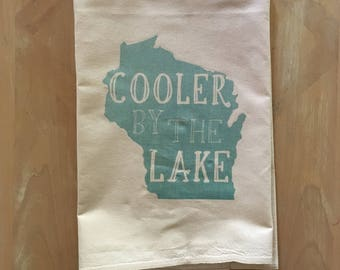 Wisconsin Flour Sack Tea Towel