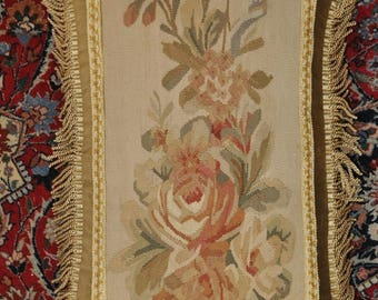 16″ x 22″ Handmade Gobelin Tapestry Weave Wool Aubusson Pillow Case / Cushion Cover 12980021