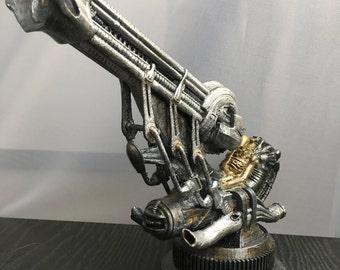 H.R. Giger Alien Spacejockey Prometheus Stranger things Xenomorph Protomorph Covenant model 3d printed hand painted HR Giger
