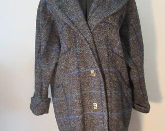 Winter Windowpane Coat