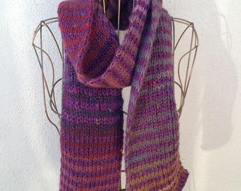 17004 - Handknit scarf