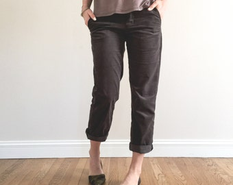 Hampshire Trouser WOMENS PDF pattern and tutorial, sizes xxs - xxl, sewing pattern, instant download