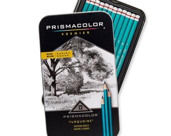 12 Prismacolor Premier Medium Grade Graphite Pencils
