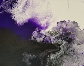 Purple Lava - original painting
