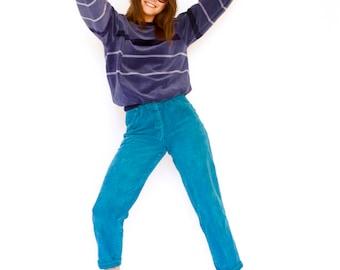 Vintage 70s blue cord jeans