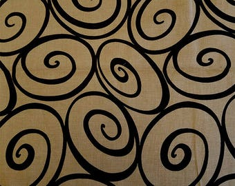 IRONWORK in PUTTY, Michael Miller, 100% Cotton Quilting Fabric Apparel, Fabric by the Yard