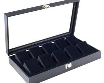 20 Slot Watch Box Case Sunglass Watch Storage Watches