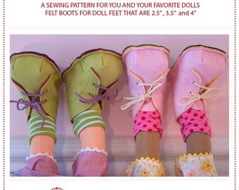 Briar Boots sewing pattern