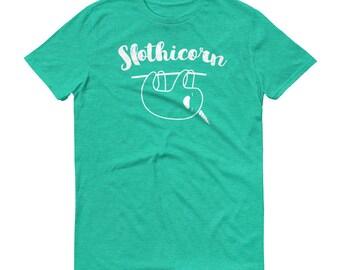 Slothicorn Sloth Unicorn Shirt, Funny Sloth TShirt, Sloth T-Shirt, Sloth Lover, Sloth Love, I Love Sloths, Sloth Gift Shirt