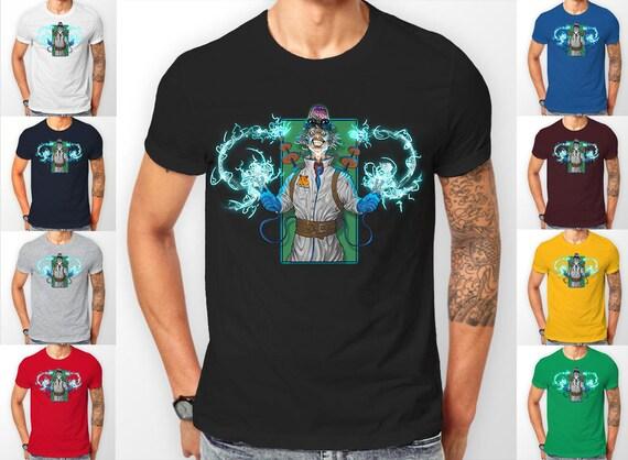 Proffessor Zomboids crazy scientist Tee shirt T-Shirt