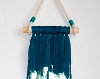 Woven Wall Hanging, Wall Art, Tapestry, Weaving, Baires