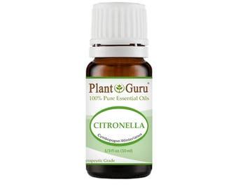 Citronella Essential Oil  100% Pure, Undiluted, Therapeutic Grade.