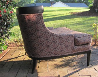 Mid Century Modern Swooping Arm Lounge Chair