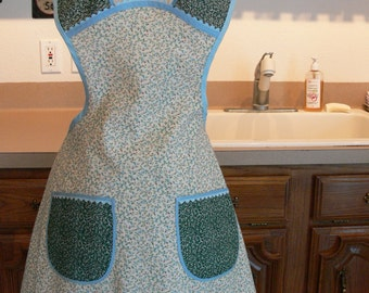 Full Vintage Style Apron, cute, hostess, gift