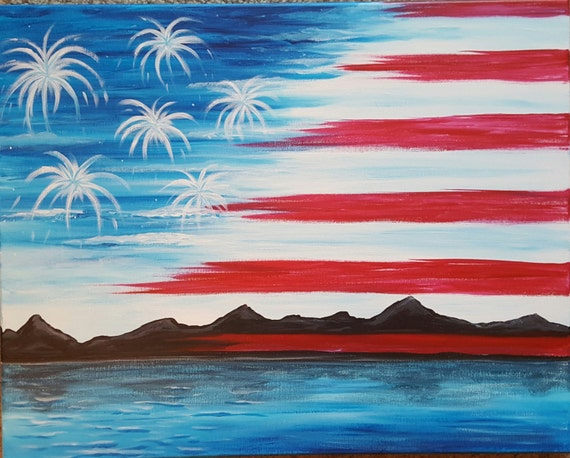 Patriotic Wall Art Canvas Art Dental Office Decor Acrylic