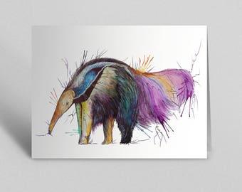 Anteater Greetings Card
