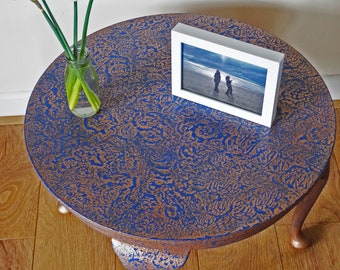 SOLD    Unique Hand-painted Table
