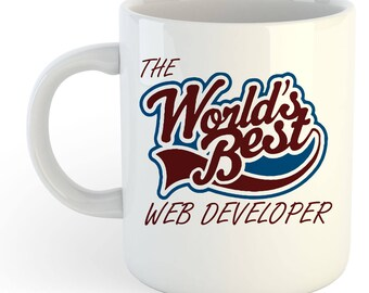 The Worlds Best Web Developer Mug