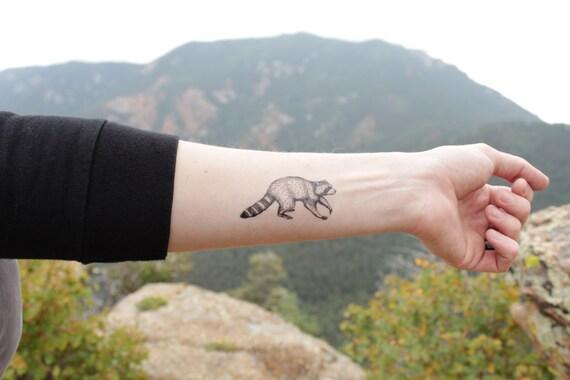 Raccoon Tattoo