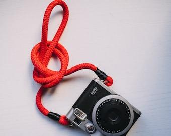Shoulder strap in cord for Mirrorless Reflex cameras - Neck strap hand camera camerastra fuji sony olymus x leica canon nikon