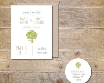 Wedding Save The Dates, Save The Dates, Tree Swings, Save The Date, Wedding, Outdoor Wedding, Affordable Wedding, Simple Wedding