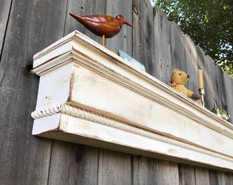 Wood Beam mantle Fireplace Mantle Rustic Mantle Shelf Mantle Beam Mantle Shelf Fireplace Beam Floating shelf Primitive mantle USA made 45""