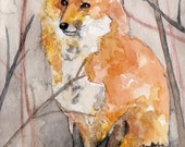 Fox Painting - Print from...
