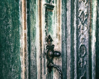 Wood Door Photo, Digital Download, Rustic Photography, French Door Photo, Architectural Details, Rustic Wall Art, Instant Download