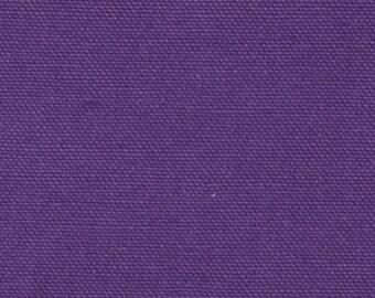Remnants of 9-10oz Cotton Canvas Duck Cloth - Viking Purple