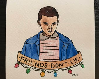 "Stranger Things ""Eleven"" PRINT"