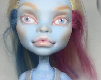 Repaint monsterhigh doll 1:6