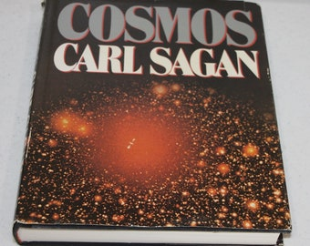 COSMOS by Carl Sagan 1980 hardcover with dust jacket