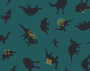 Art Gallery Fabrics - Dinomania Neon - Esoterra- Katarina Roccella
