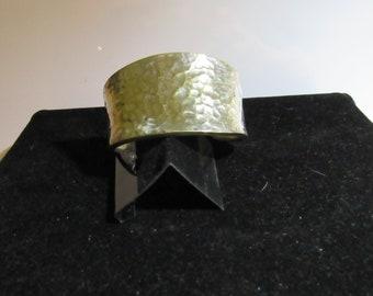 bracelet hammered finish marked 925
