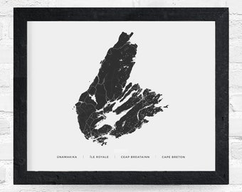 Cape Breton Heritage Print