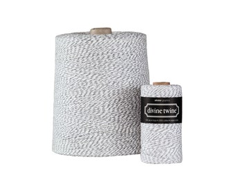 NEW** Gray and White Divine Twine X