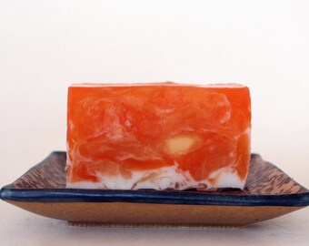 Pumpkin Olive Oil and Shea Butter Bar Soap