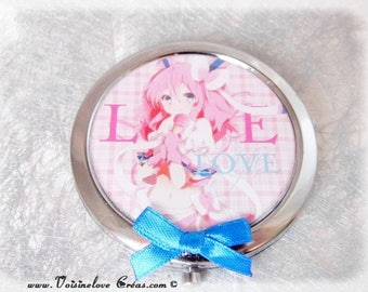Large Pocket mirror model kawaii
