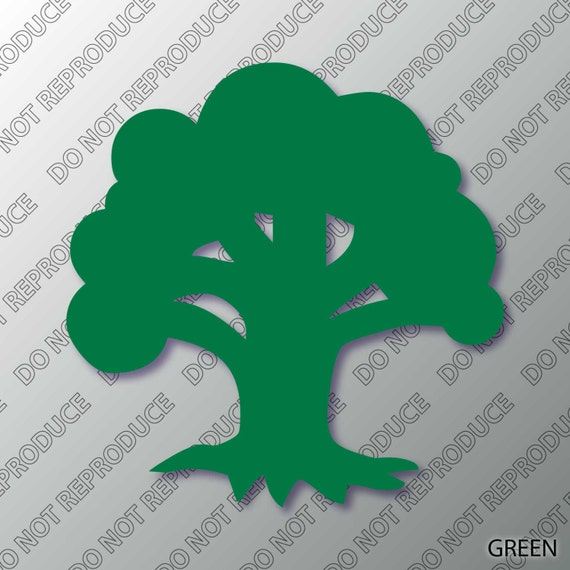 Mtg Forest Mana Symbol Magic Vinyl Decal