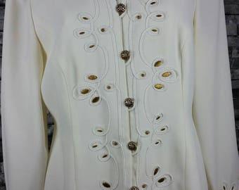 Vintage Dressy 2 Piece Suit - Size 12