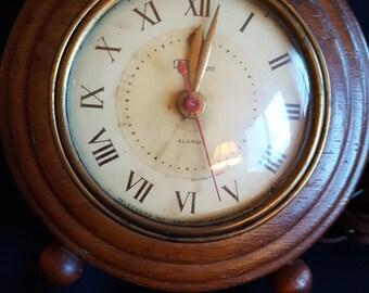 Telechron clock with Alarm