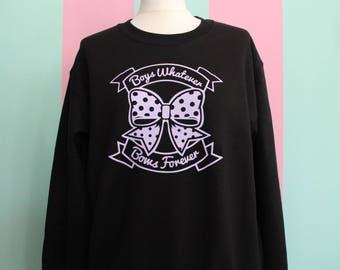 BOYS Whatever - BOWS Forever Sweater